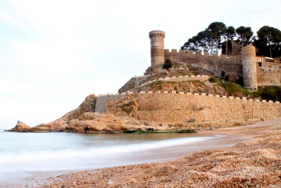 Tossa de Mar en catalunya