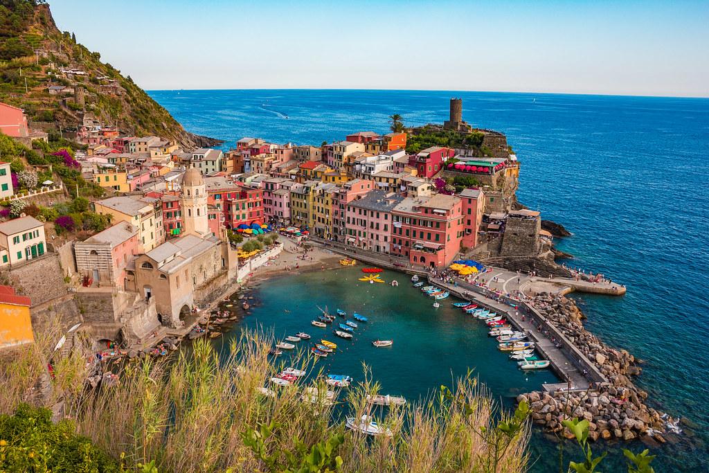 pueblos italianos Vernazza