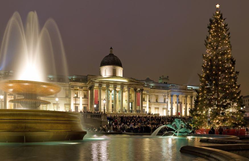 ceremonia de navidad Trafalgar Square