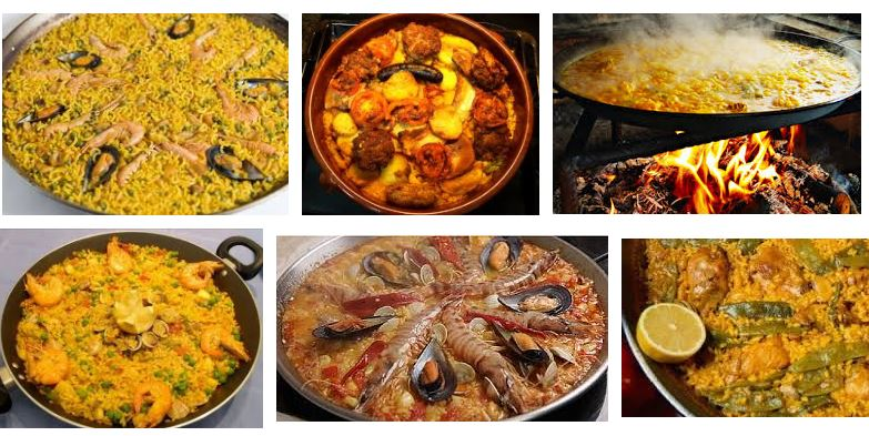 comidas mas tipicas de Valencia