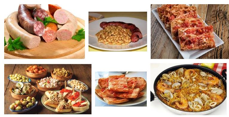 comidas tipicas de Barcelona