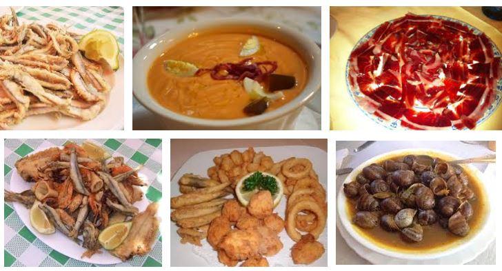 comidas tipicas de andalucia
