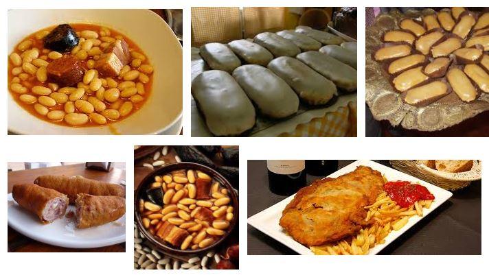 comidas y platos en oviedo