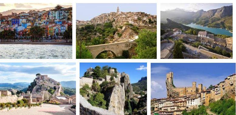 los pueblos mas bonitos de la comunidad valenciana