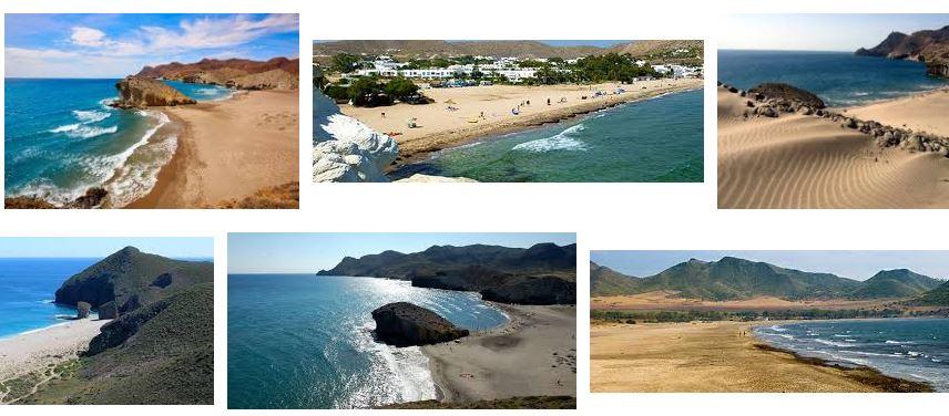 mejores playas de almeria espana