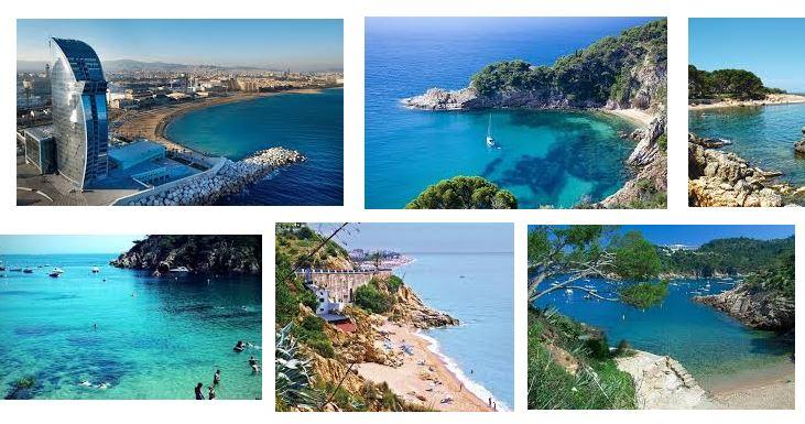 mejores playas en Barcelona