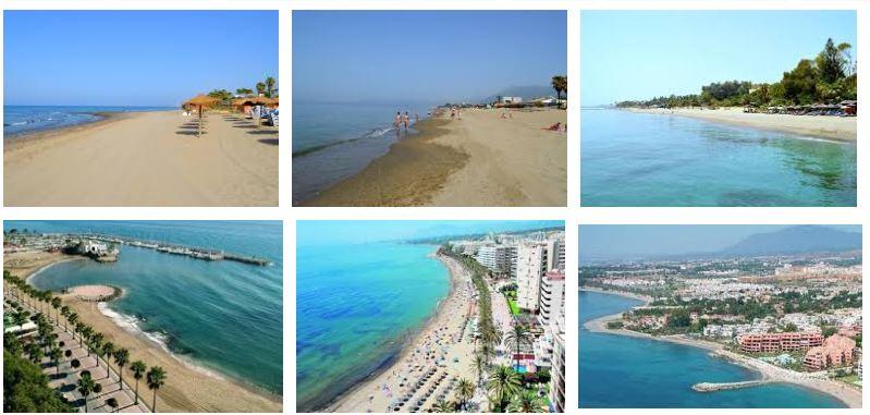 mejores playas marbella