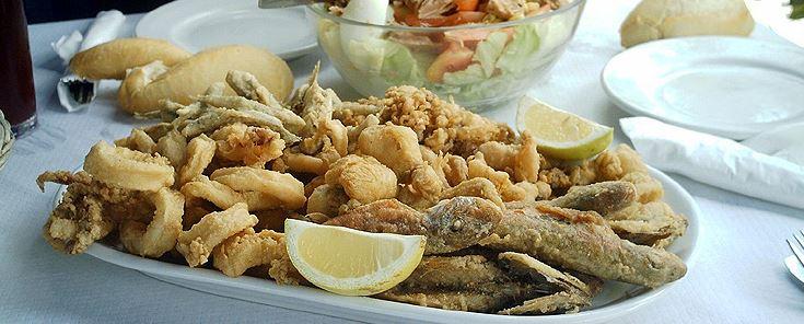 comidas andaluzas pescaito frito