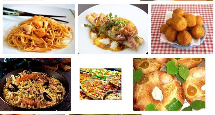 platos y comidas europeas