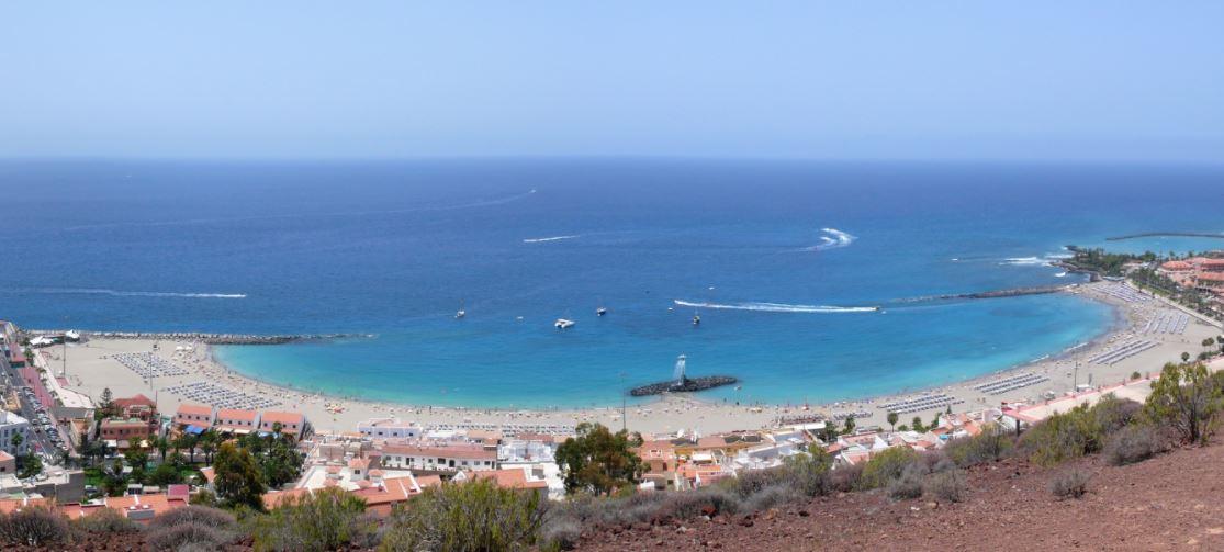 playa de las vistas en tenerife