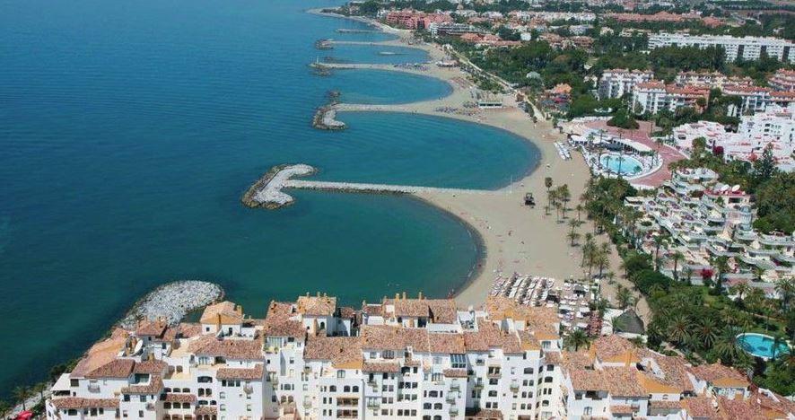 playa nueva andalucia calas en marbella