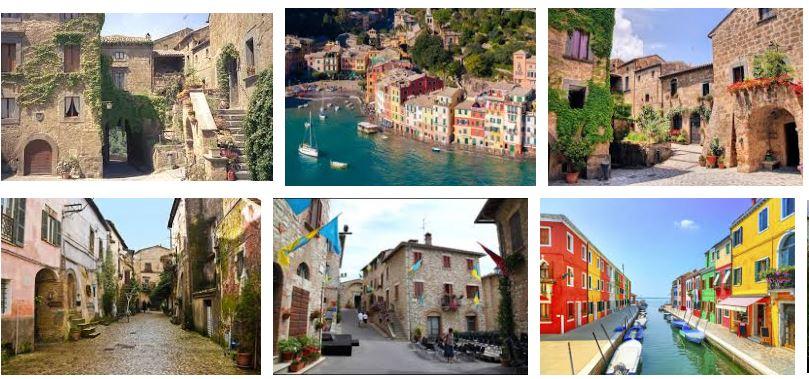 pueblos mas bonitos italia