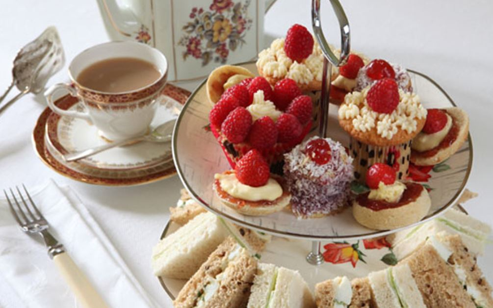 comidas tipicas en londres Afternoon Tea And Cream Tea