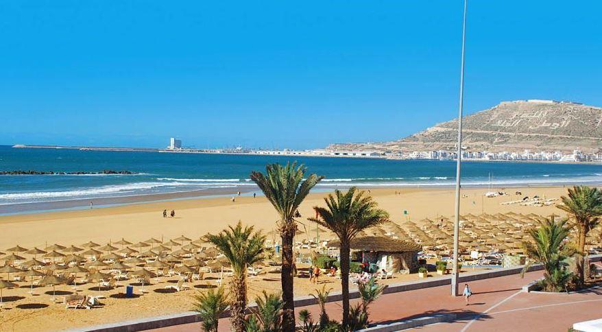 Agadir playa