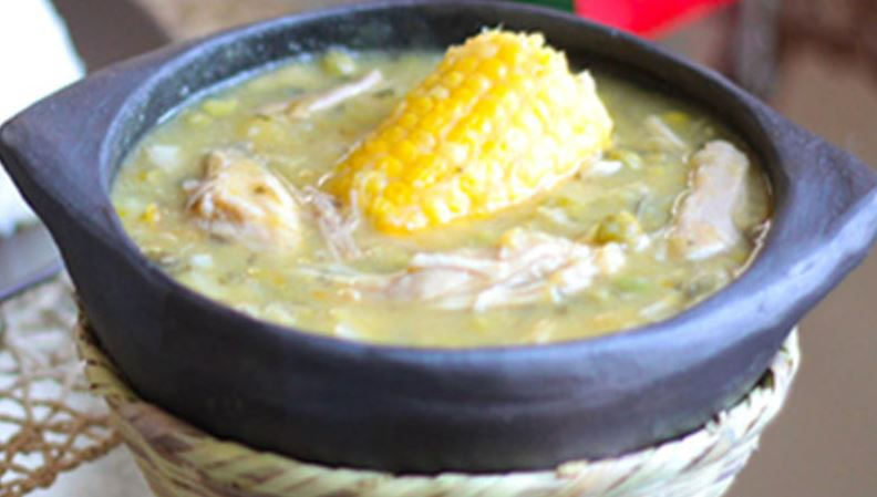 Ajiaco platos tipicos colombianos