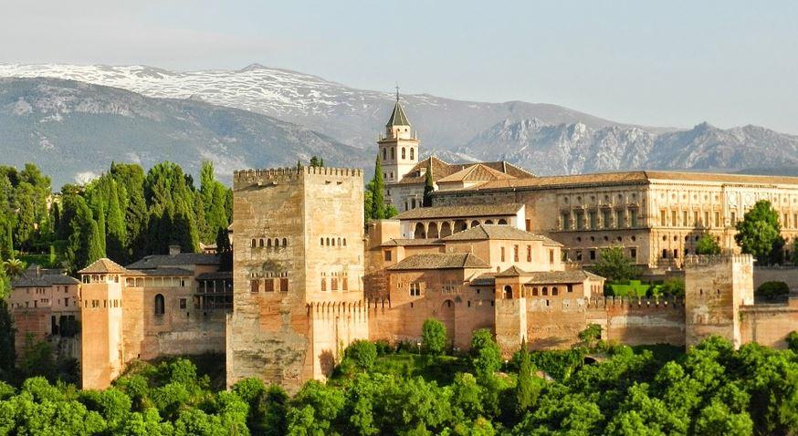 La Alhambra, Granada, Andalucía