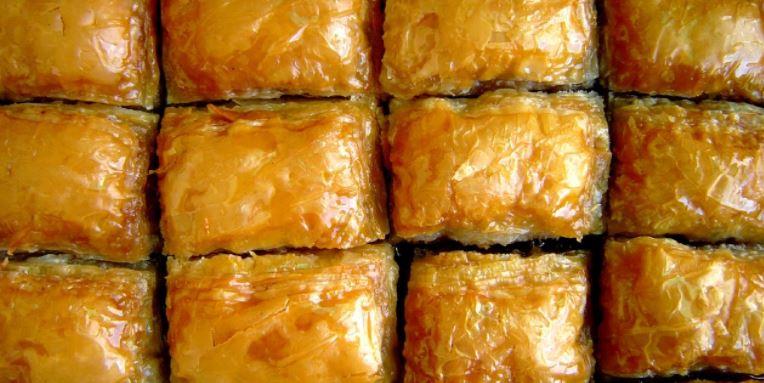 gastronomia jordana Baklavas
