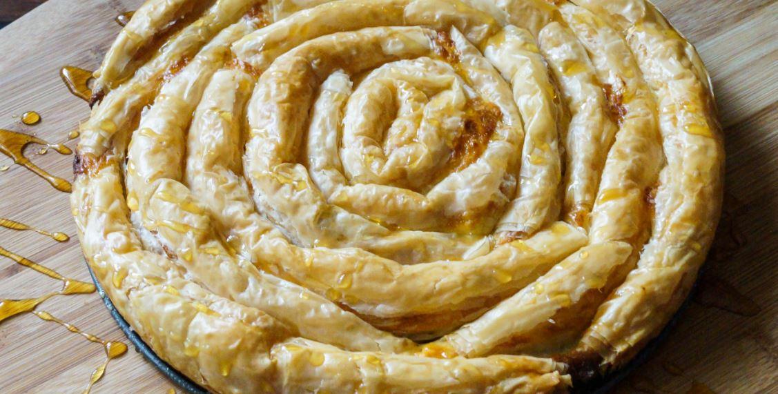 Banitsa (баница) comida tipica de bulgaria