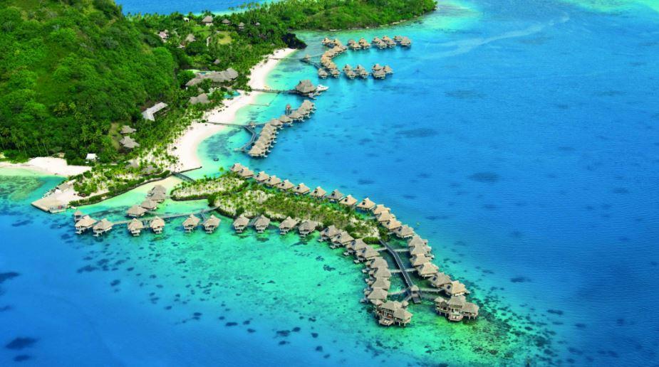 Bora Bora isla en en paraiso