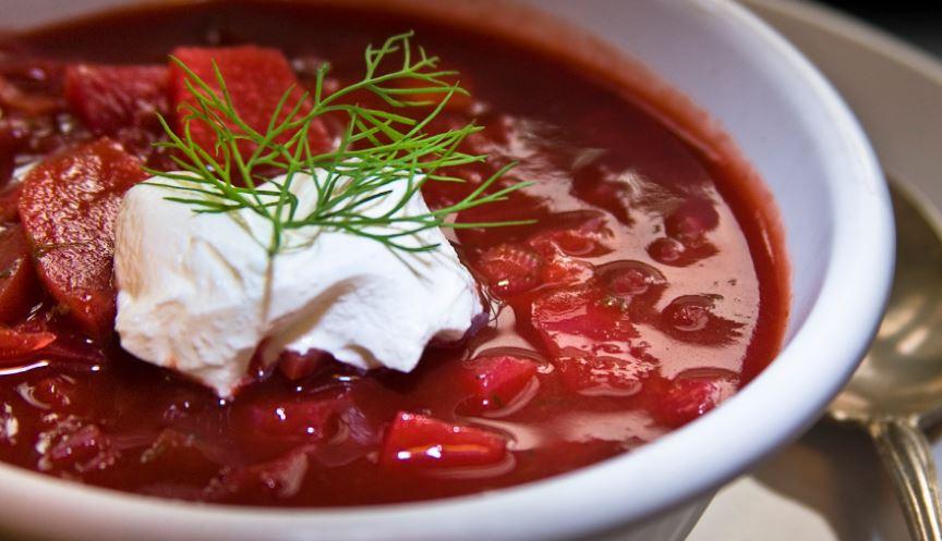 Borscht rusia comida tipica
