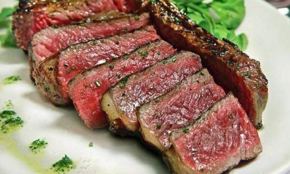 comida de canada Carne de bufalo