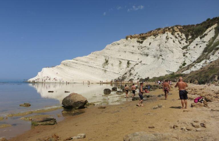 Escalera De Los Turcos Agrigento Sicilia