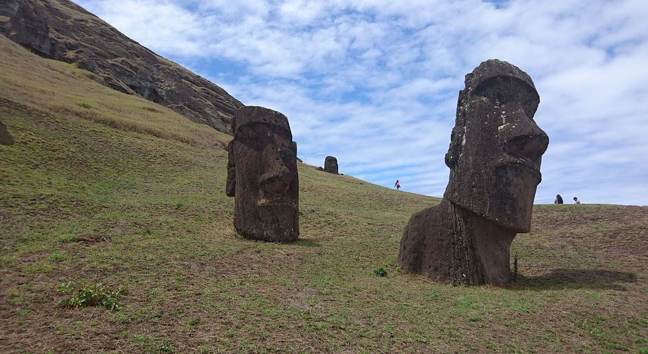 Estatuas De La Isla De Pascua esculturas famosas