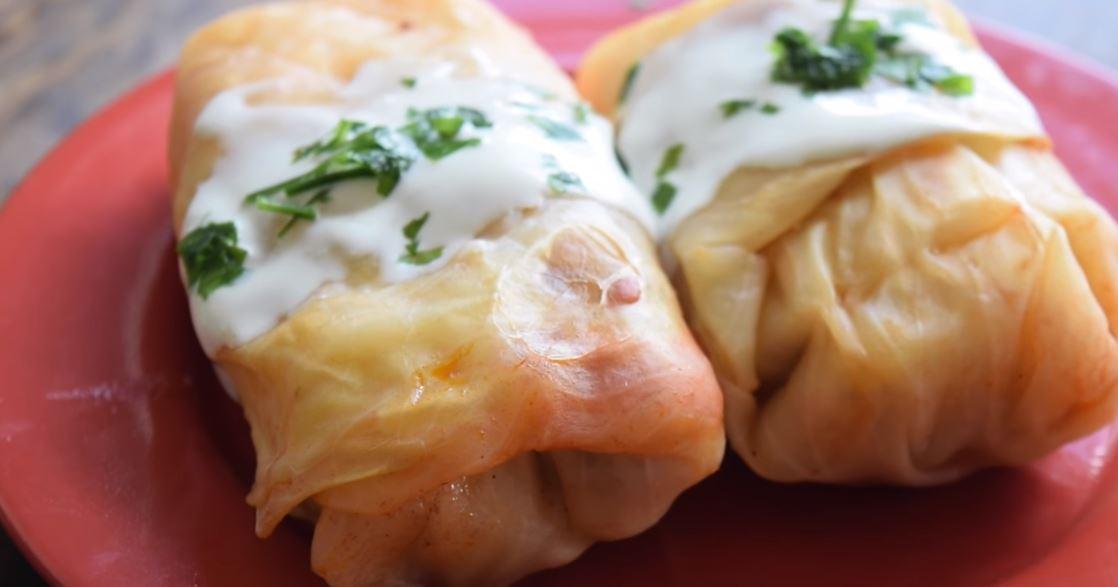 Golubtsy comida de rusia