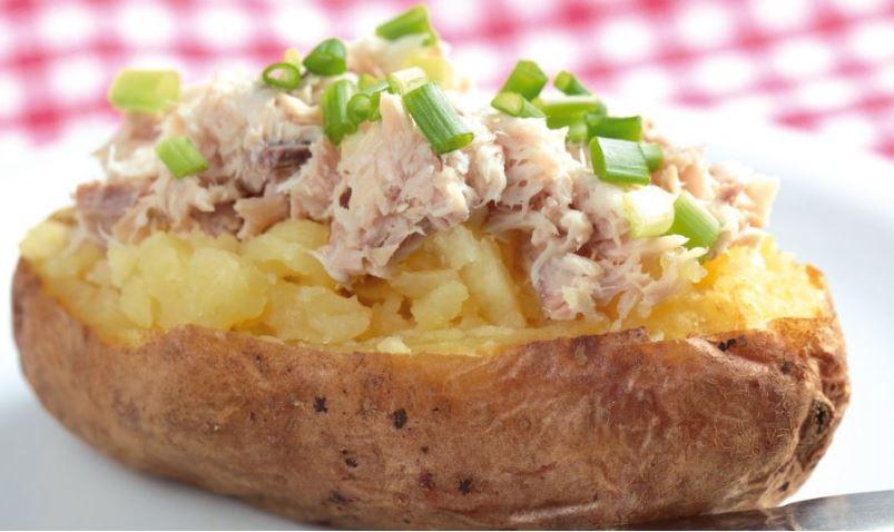 comida tipica en londres Jacket Potato