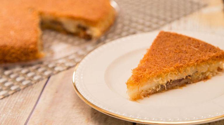 recetas dulces jordanos Konafa