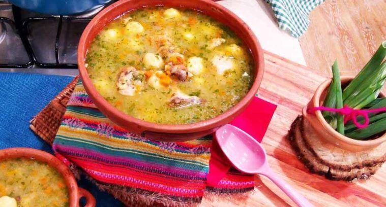 comidas tipicas del paraguay La sopa guaraní