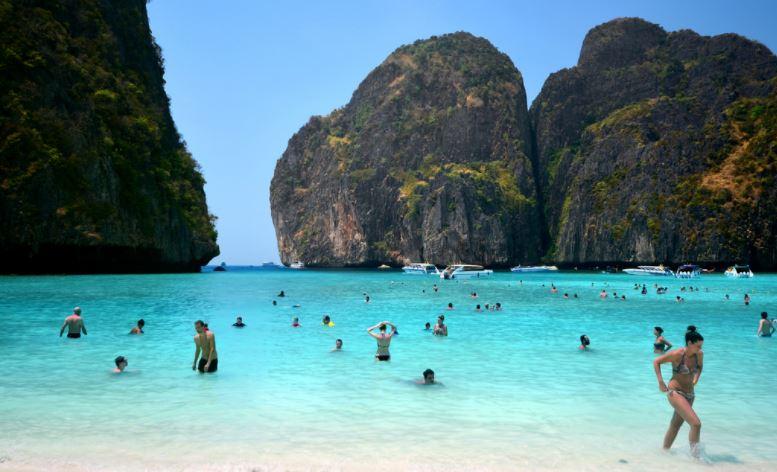 Maya Bay el paraiso en Tailandia
