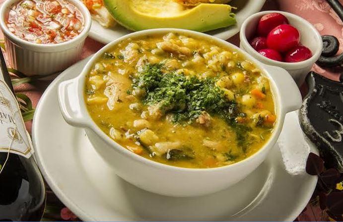 Mute Santandereano platos tipicos de colombia