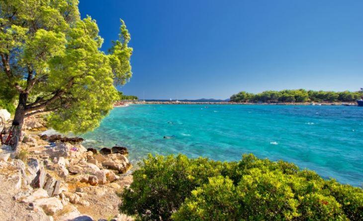 Playa Podvrske Isla de Murter