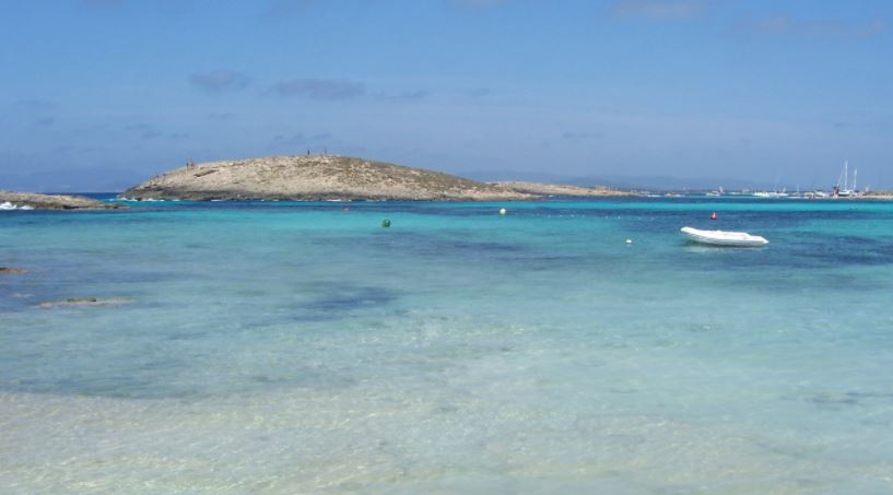 Playa Ses Illetes playas en baleares
