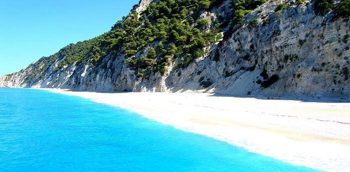 Playa de Egremni Leucade