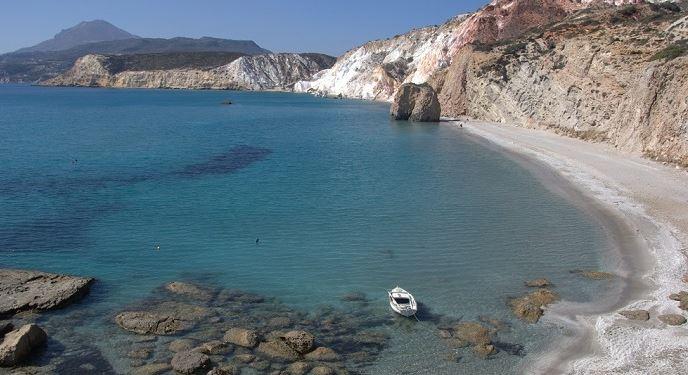 Playa de Firiplaka Isla de Milos