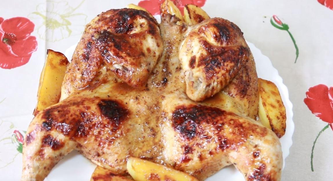 Pollo Tabaka platillos de rusia