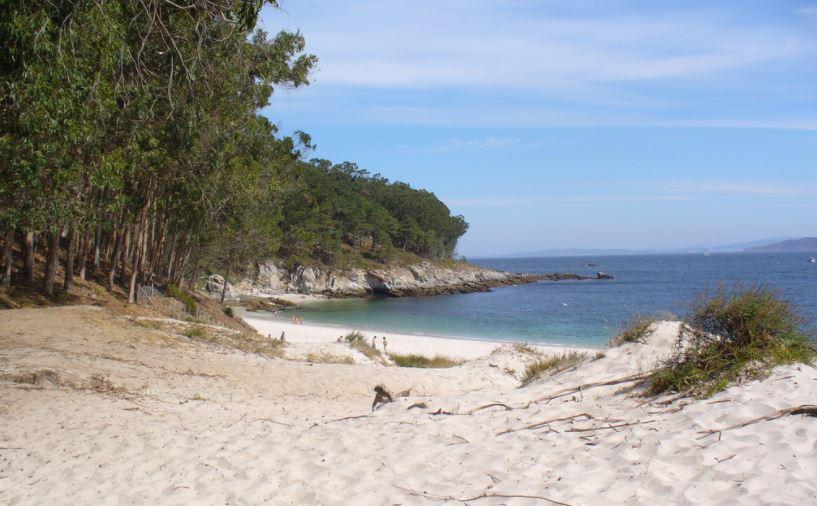 Praia de Figueiras Illas Cies