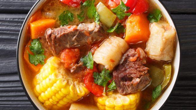 Sancocho plato tipico de republica dominicana