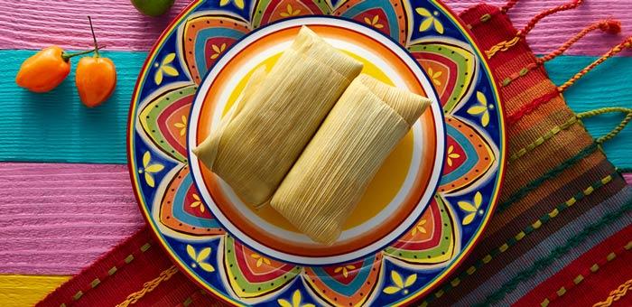 Tamal de elote plato tipico de el salvador