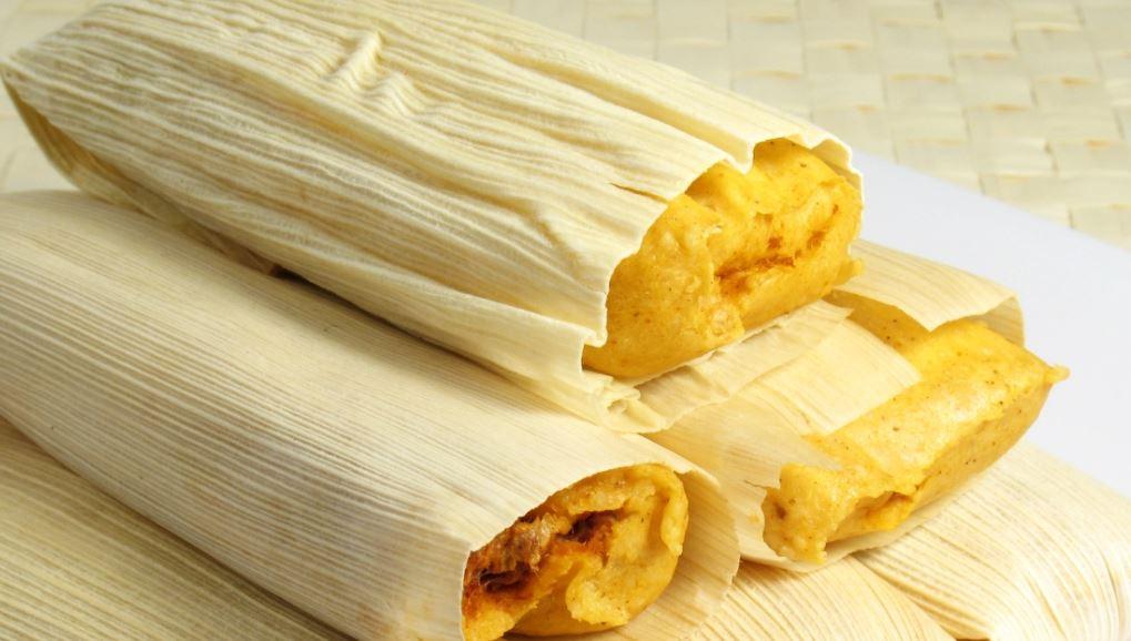Tamal comidas colombiana