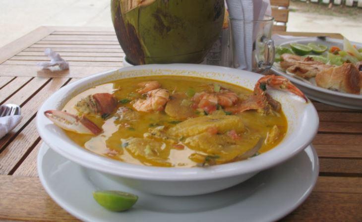 Tapado de mariscos en guatemala