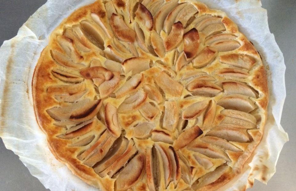 Tarta de manzana Apfelstrudel o Apfelkuchen