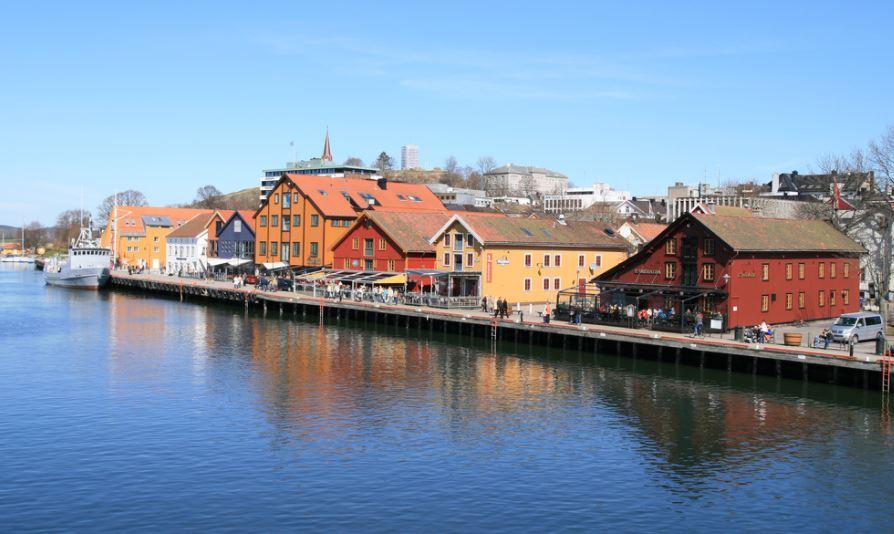 Tonsberg pueblo noruego