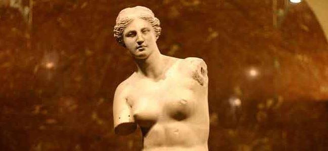 Venus De Milo ejemplos de escultura