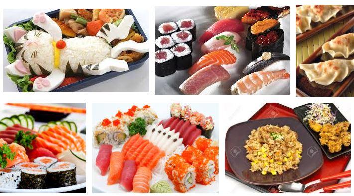 comida tipica japonesa