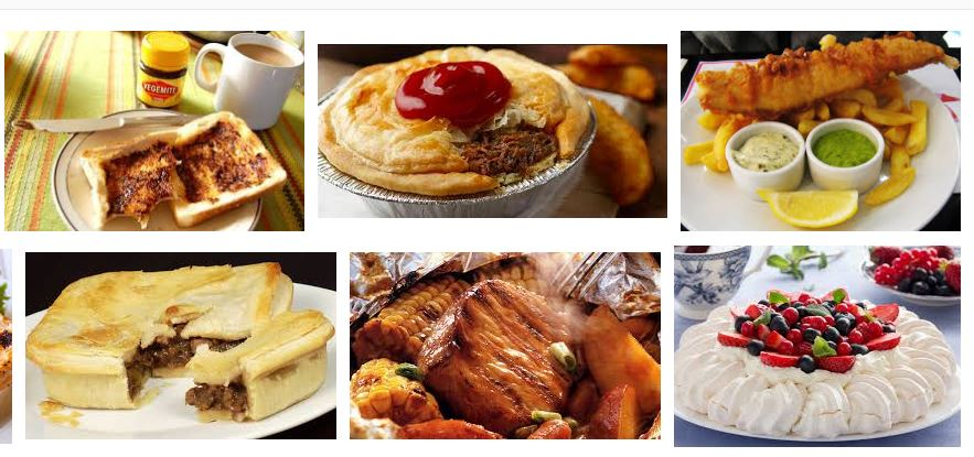 comidas australianas