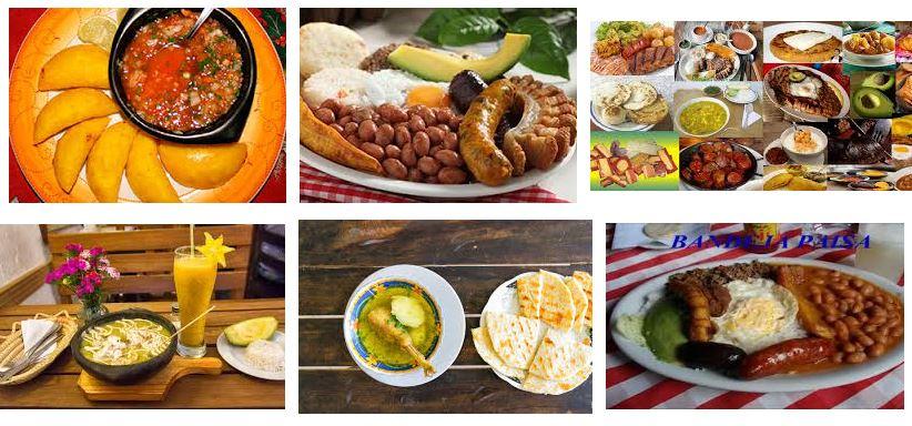 comidas de colombia