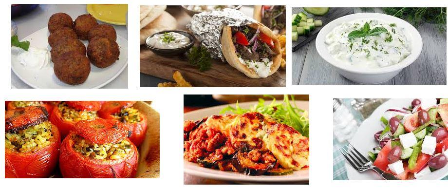 comidas griegas